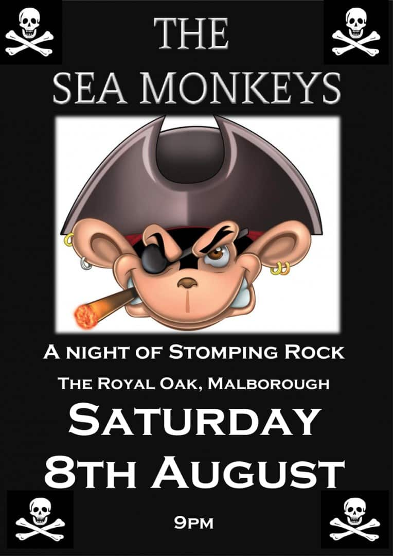 The SeaMonkeys Rock Saturday 8th August