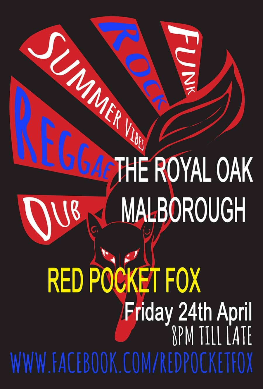 Red Pocket Fox: Live music at the Oak