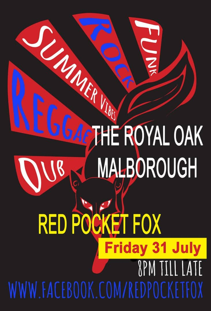 Red Pocket Fox Play Friday 31st July