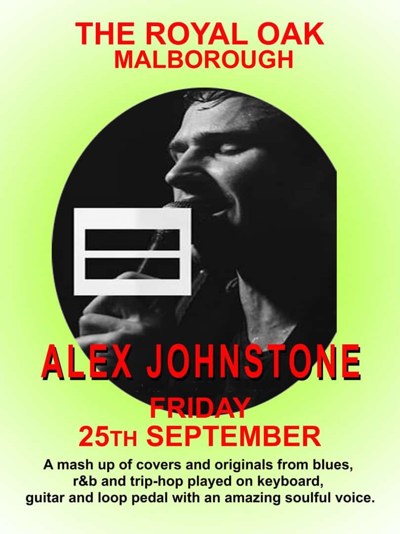Alex Johnstone at the Royal Oak on Friday 25th September