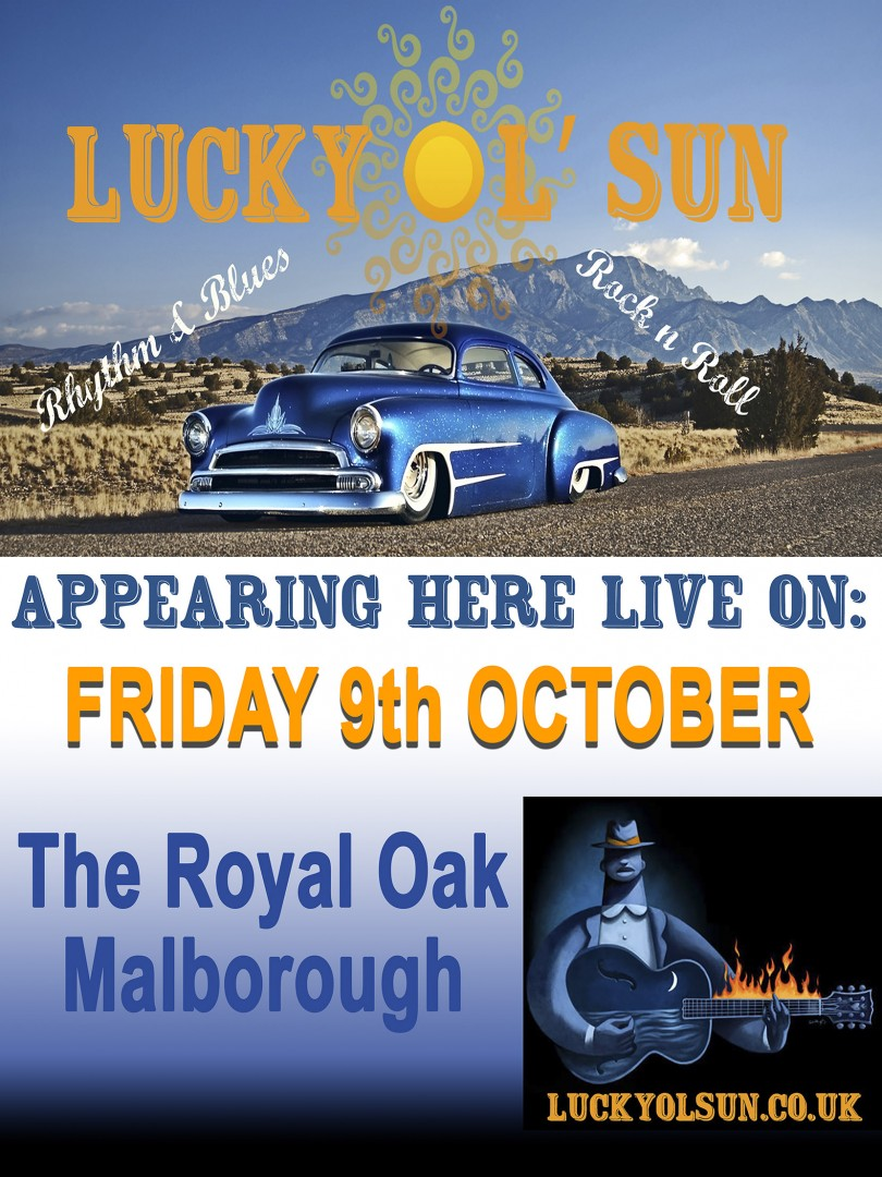 Royal Oak on Friday 9th October