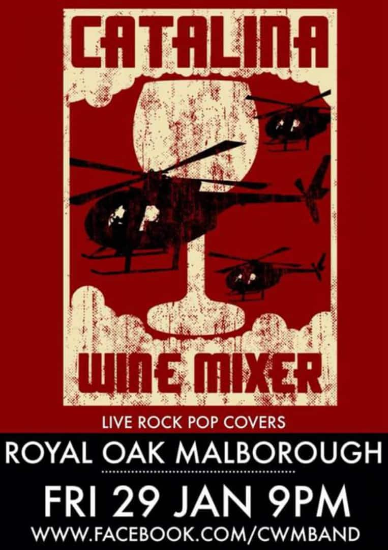 Catalina Wine Mixer at the Royal Oak Pub · Malborough, Kingsbridge, Devon